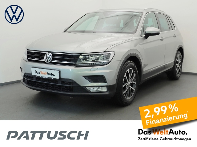 Volkswagen Tiguan 1.4 TSI Comfortline LED Panorama ACC, Jahr 2017, Benzin