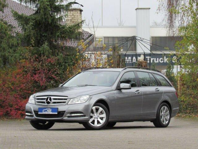 Mercedes-Benz C 180 T CGI BlueEfficiency |AHK|2xPDC|SHZ|1,99%, Jahr 2012, petrol