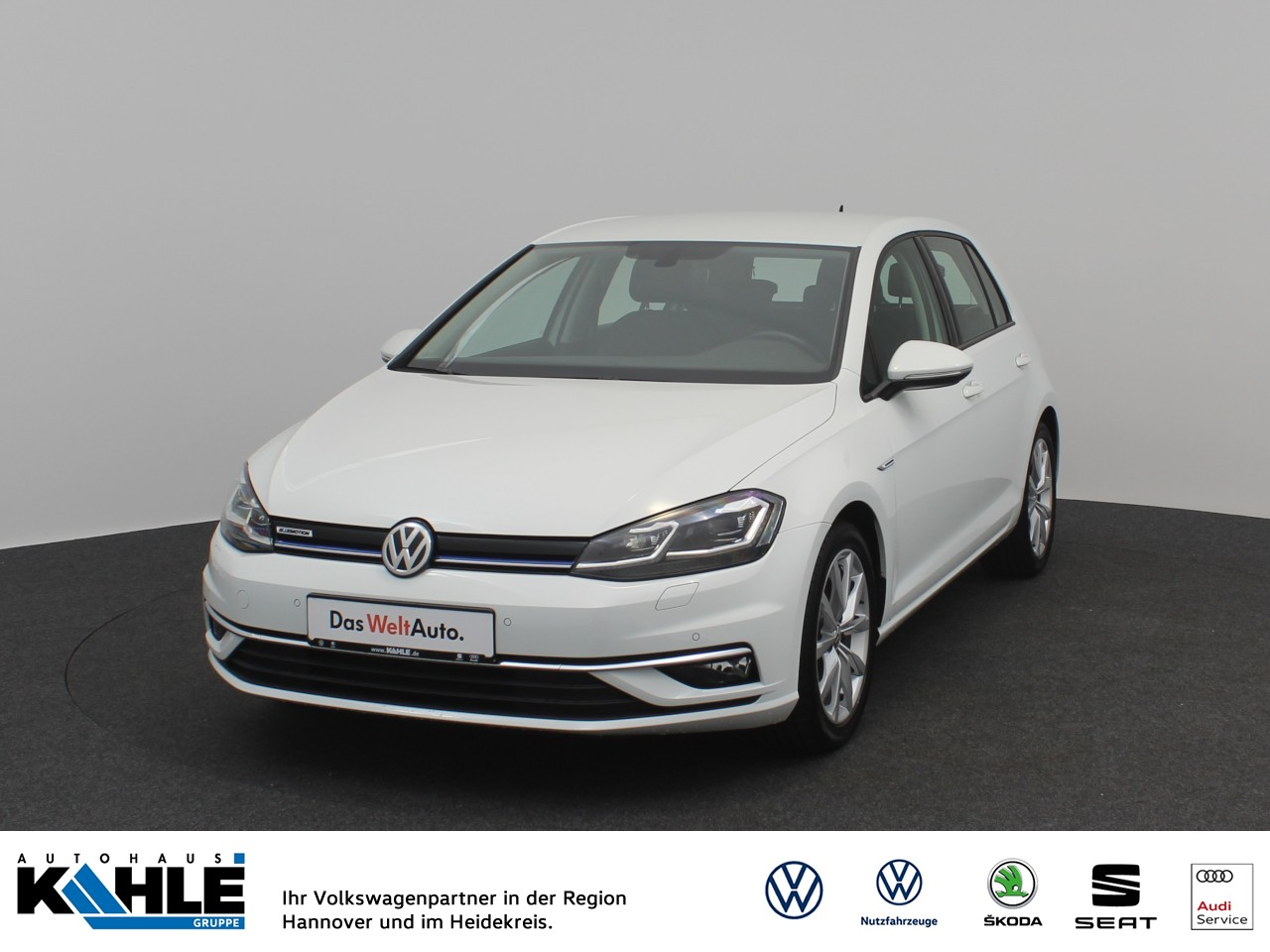 Volkswagen Golf VII 1.5 TSI BMT Highline Navi LED Klima, Jahr 2019, Benzin