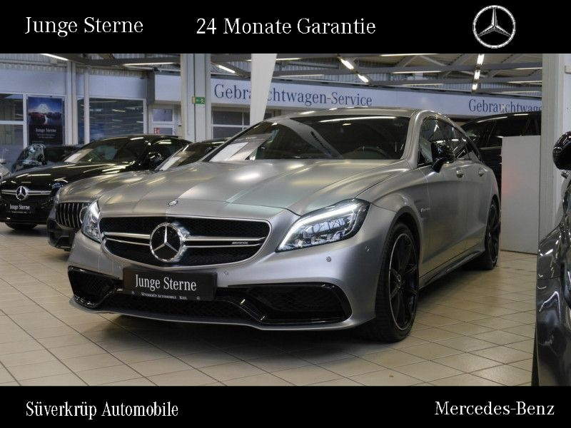 Mercedes-Benz CLS 63 AMG S 4M Shooting Brake DriversPaket/Voll, Jahr 2015, petrol
