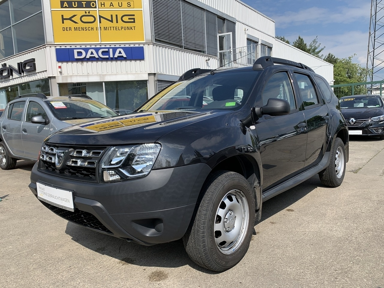Dacia Duster 1.6 SCe Ice 4x2 Klimaanlage AHK, Jahr 2016, Benzin