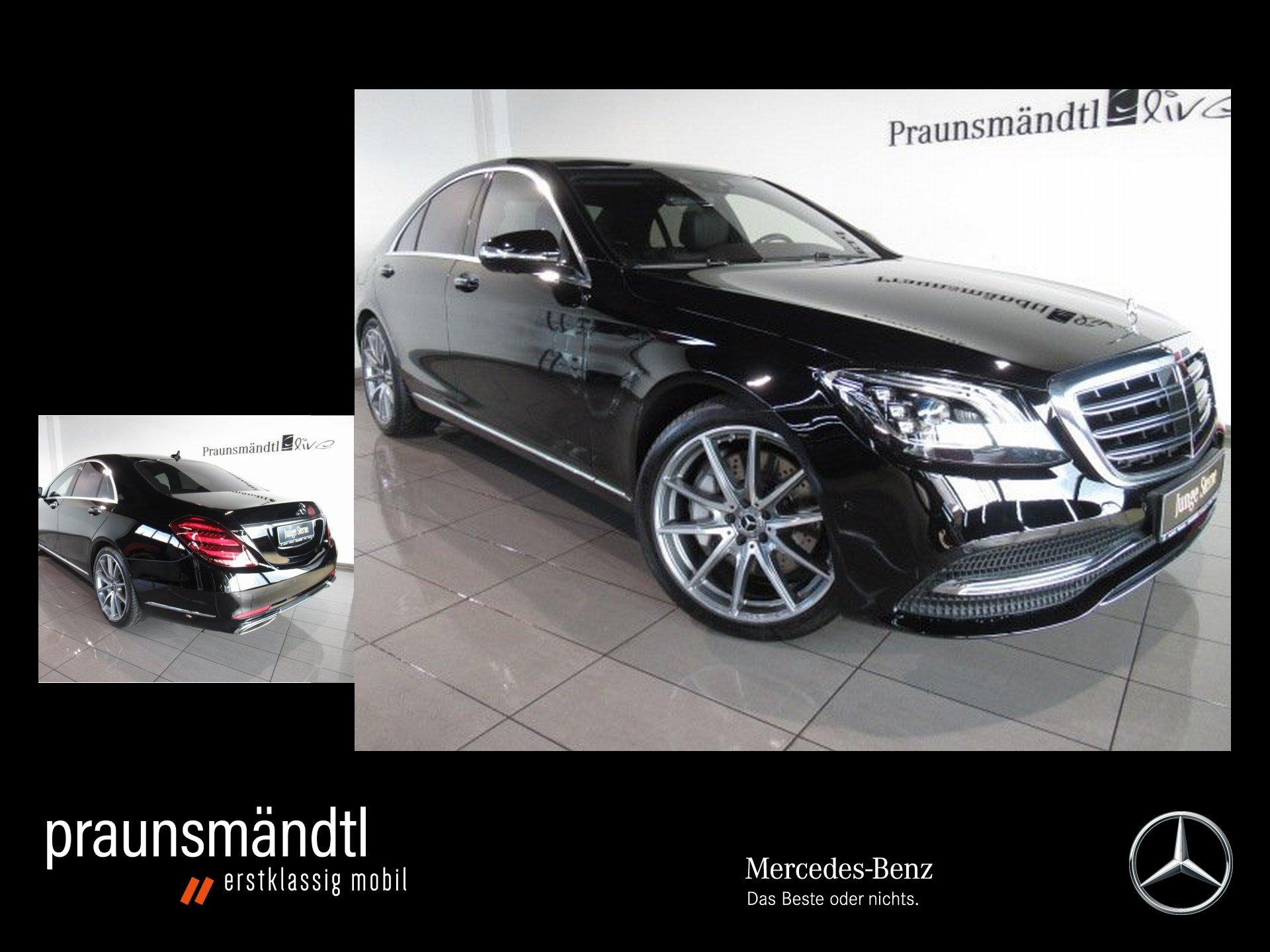 Mercedes-Benz S 560 4M AHK/Pano/Burmester/MULTIBEAM/Distr./360, Jahr 2018, Benzin