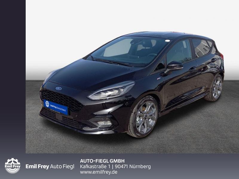 Ford Fiesta 1.0 EcoBoost Hybrid S&S ST-LINE X 92 kW, 5-türig, Jahr 2020, Benzin