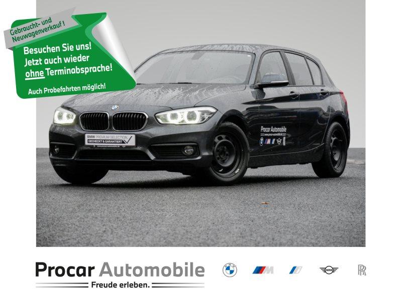 BMW 118i NAVI+SITZHEIZUNG+HIFI+LED+2-ZONEN-KLIMA+PDC, Jahr 2019, Benzin
