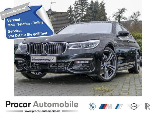 BMW 750d xDrive M Sportpaket Innovationsp. TV RFT, Jahr 2017, Diesel