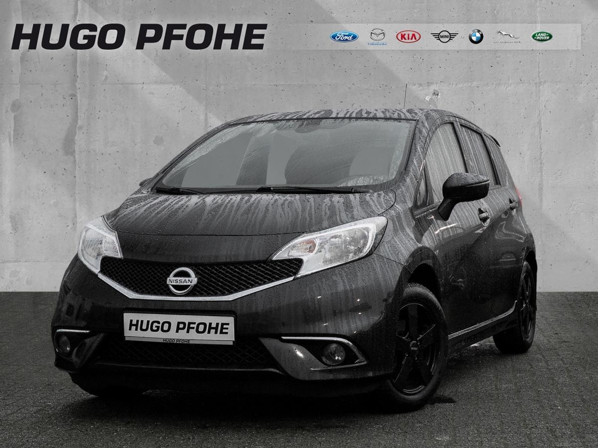 Nissan Note Black Edition|Klima|Temp.|Bluetooth, Jahr 2016, Benzin