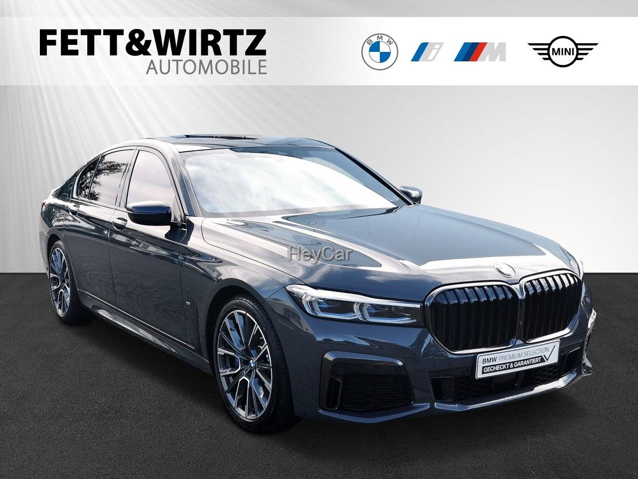 BMW 745e M Sport GSD Sitzlüft. Laser DAProf. B&W, Jahr 2020, Hybrid