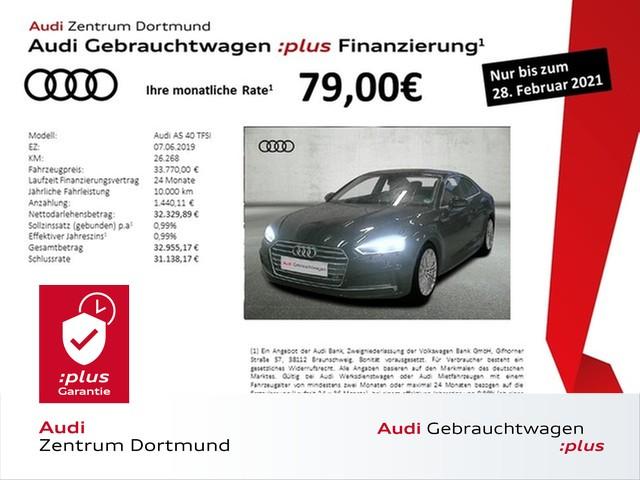Audi A5 Coupé 40TFSI S line/Navi+/LED/eSitze/VC, Jahr 2019, Benzin
