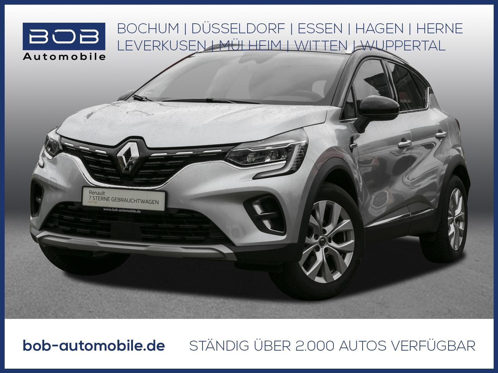Renault Captur Intens TCe 100 NAVI SHZ PDC KLIMA ALU BT, Jahr 2020, Benzin