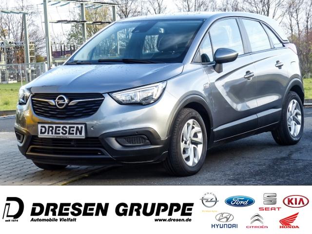 Opel Crossland X Edition 1.2/Sitzheizung/Parkpilot/Regensensor/Klimaanlage, Jahr 2017, Benzin