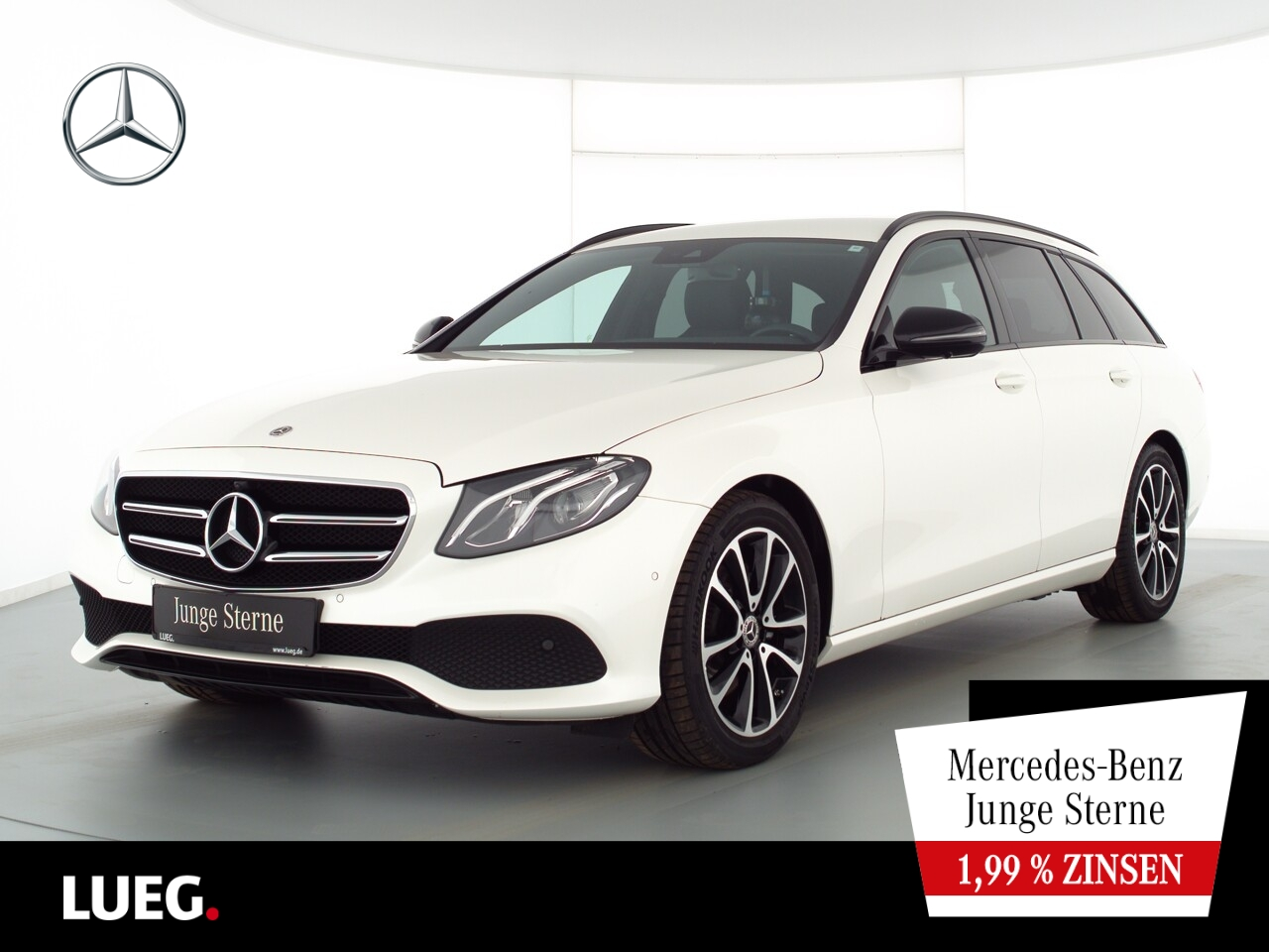 Mercedes-Benz E 220 d T Avantgarde+COM+LED-HP+Widesc+Night+360, Jahr 2019, Diesel