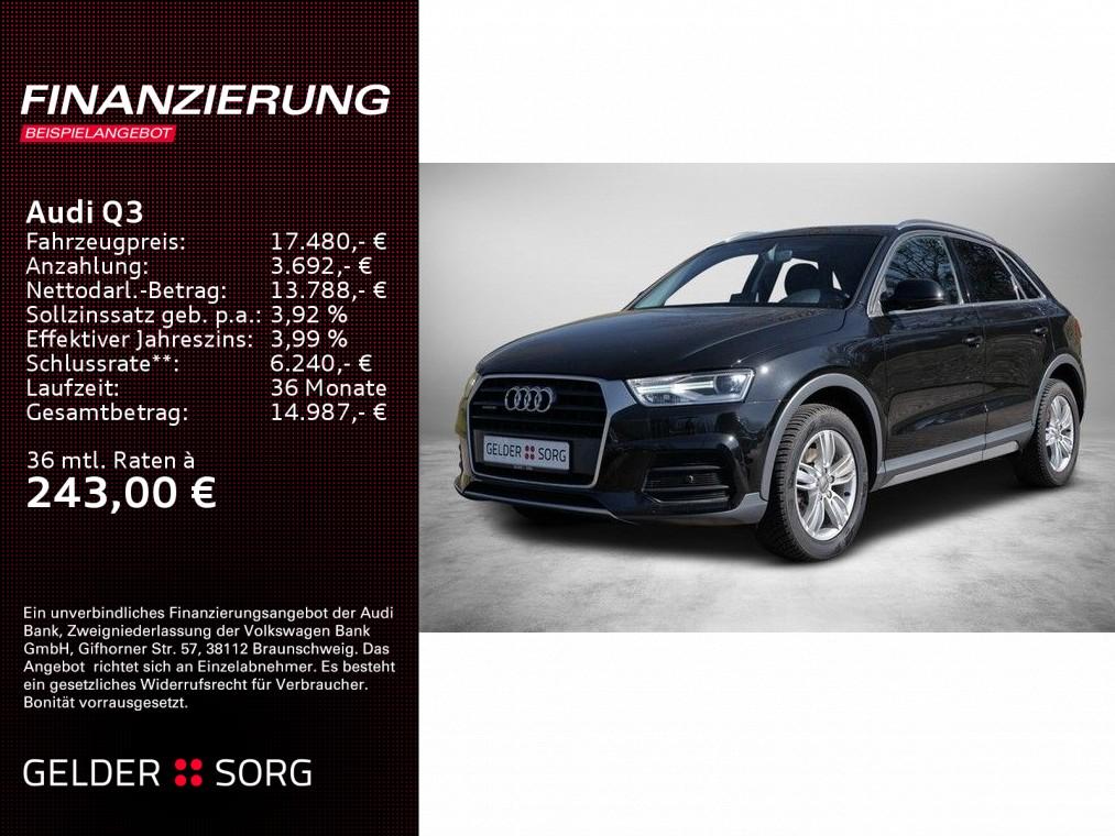 Audi Q3 2.0 TDI design quattro Navi*PDC*AHK*, Jahr 2016, Diesel