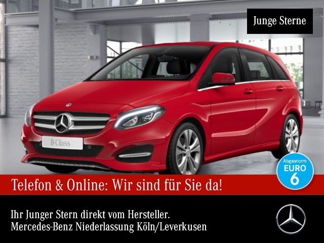 Mercedes-Benz B 220 d Edition B Urban LED Kamera Navi Laderaump, Jahr 2018, Diesel