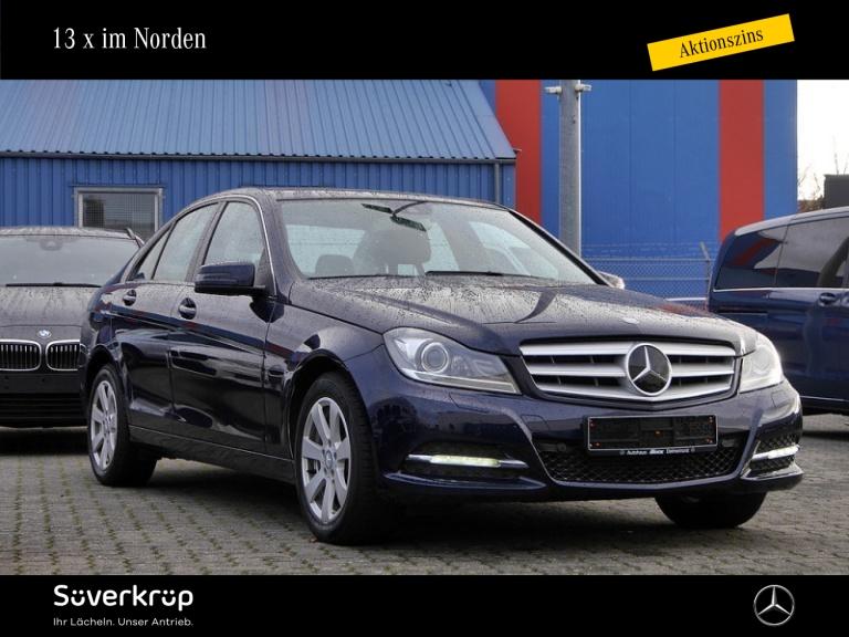 Mercedes-Benz C 200 Comand/Fahrassist./LED/Memory/Schiebedach, Jahr 2013, Benzin