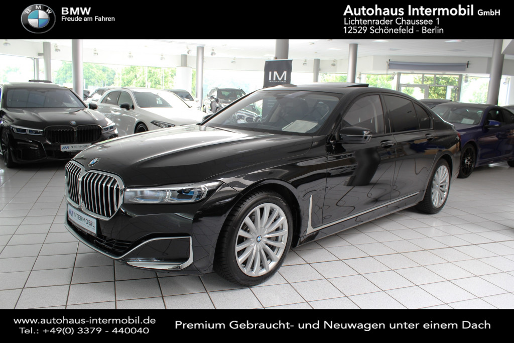 BMW 750 i xDrive*Fern Parken*Laser*H-Up*Steifschaden, Jahr 2020, Benzin