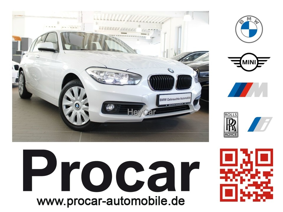 BMW 120i Advantage PDC SHZ FSE Tempomat mit Garantie, Jahr 2017, Benzin