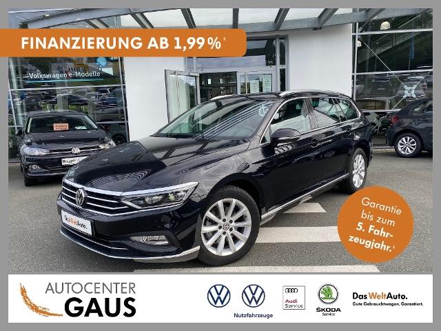 Volkswagen Passat Var. Elegance 2.0 TDI DSG LED AHK Navi, Jahr 2020, Diesel