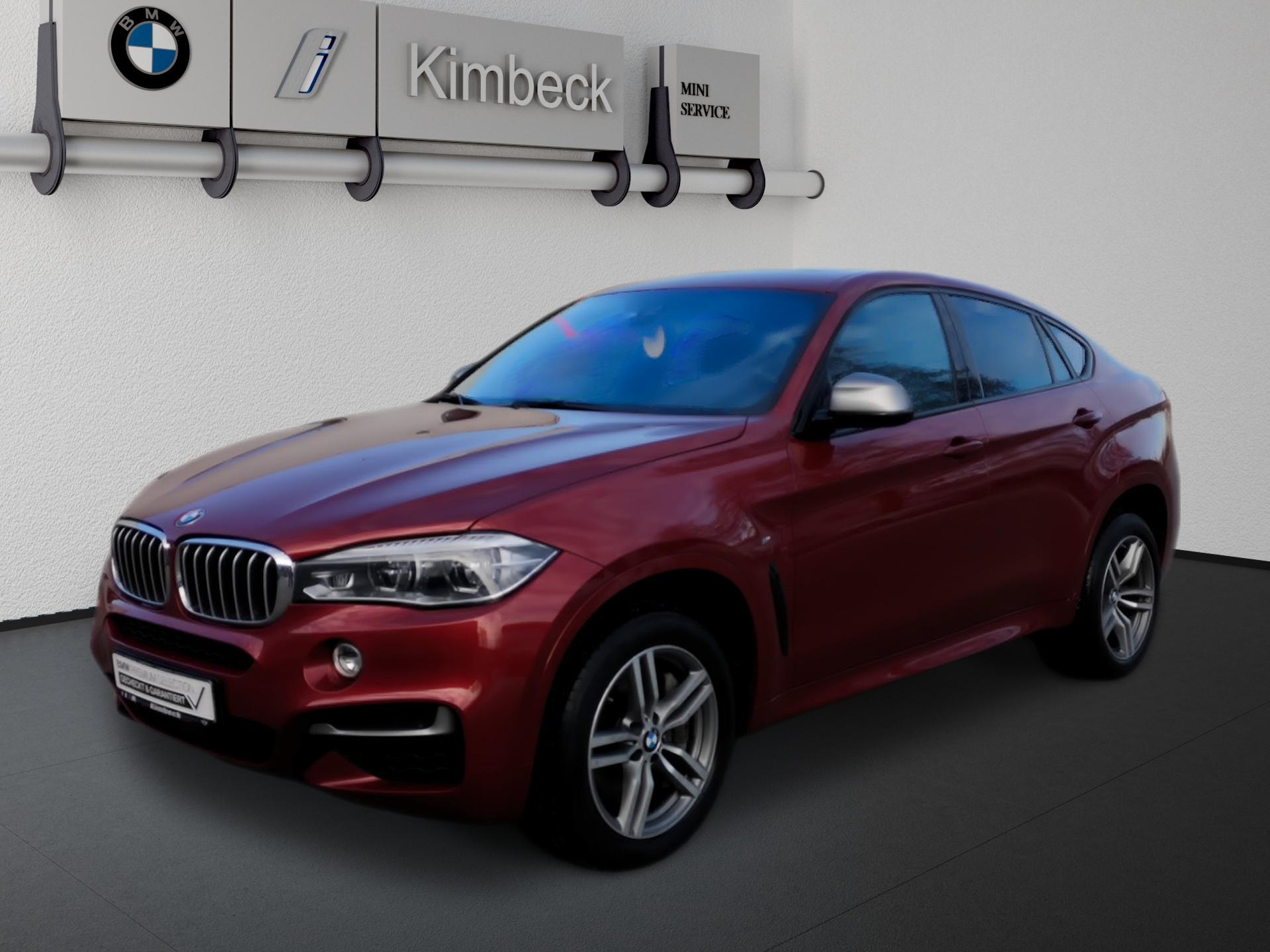 BMW X6 M50d M SPORT Headup Pano AHK ACC Komfortsitze, Jahr 2017, Diesel