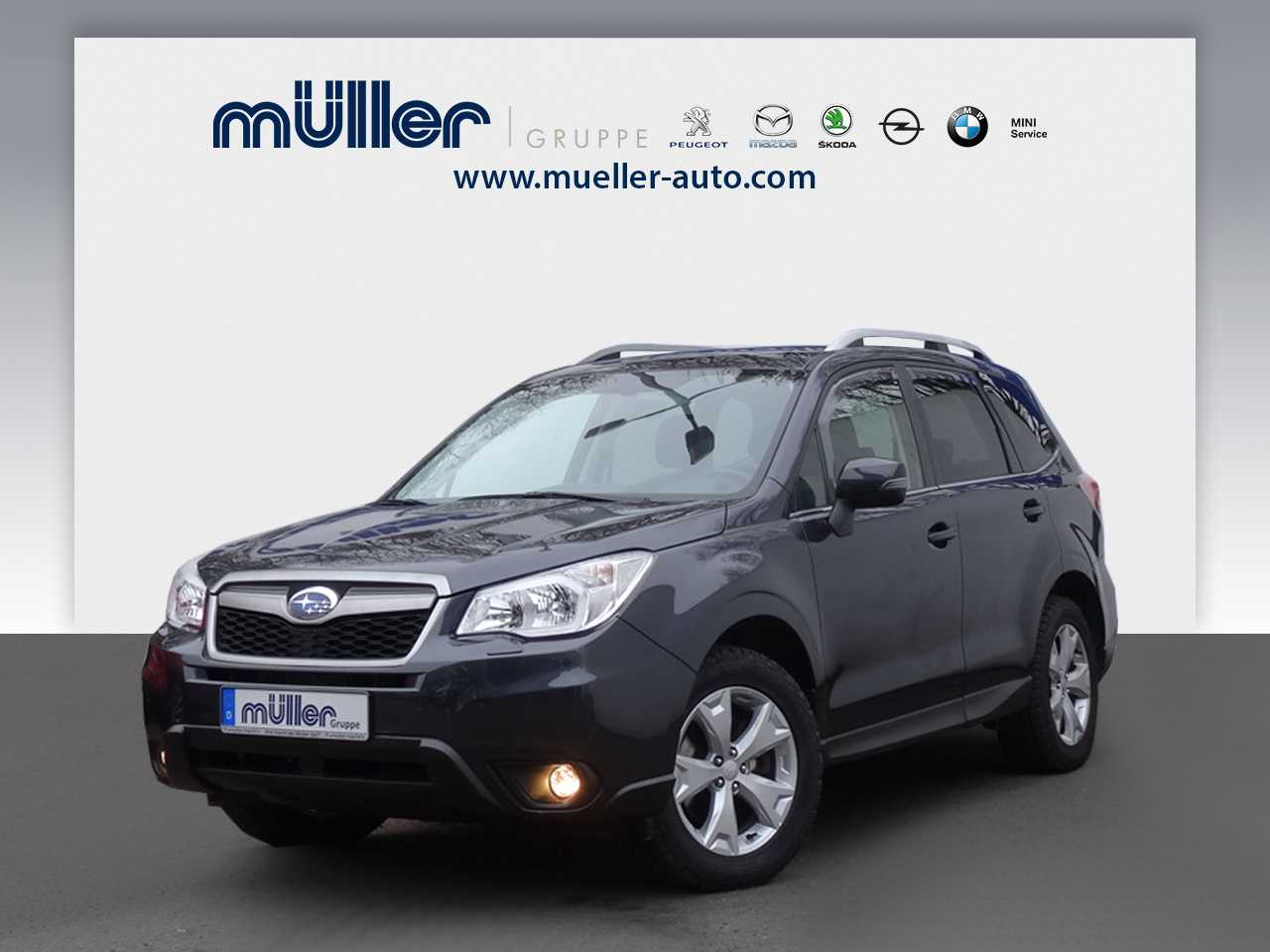 Subaru Forester 2.0D Lineartronic Exclusive, Jahr 2015, diesel