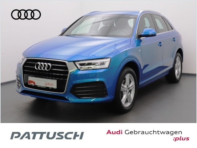 Audi Q3 1.4 TFSI S-Line LED Bluetooth Sitzhzg., Jahr 2016, Benzin