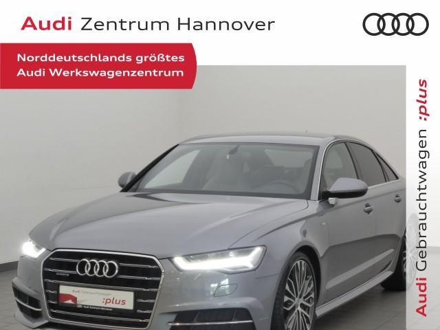 Audi A6 3.0 TDI S-line Leder 20-Zoll Kamera LED Navi, Jahr 2018, Diesel