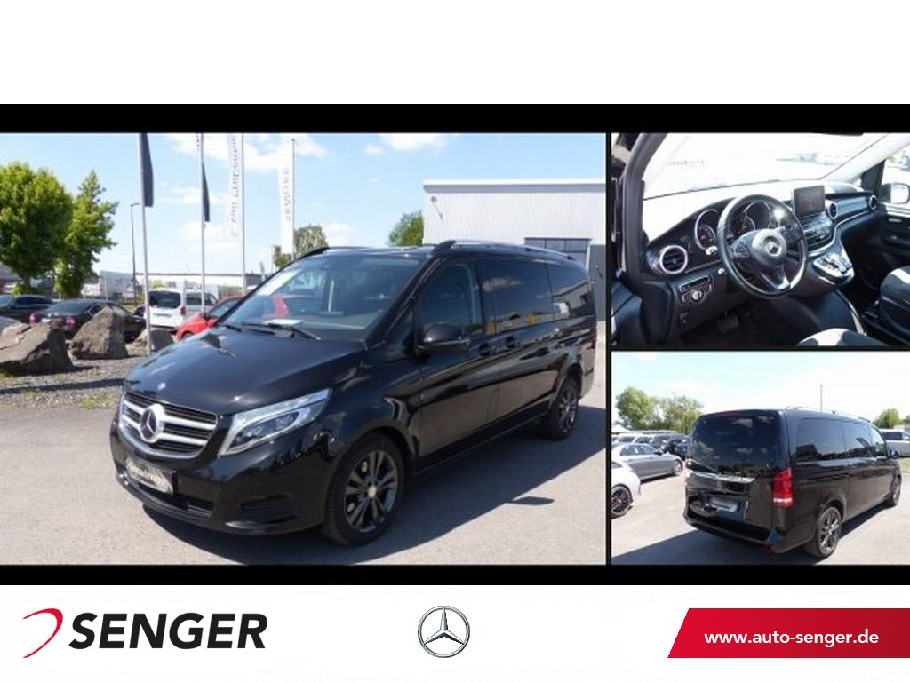 Mercedes-Benz V 250 d Edition lang COMAND Distronic LED AHK, Jahr 2016, Diesel