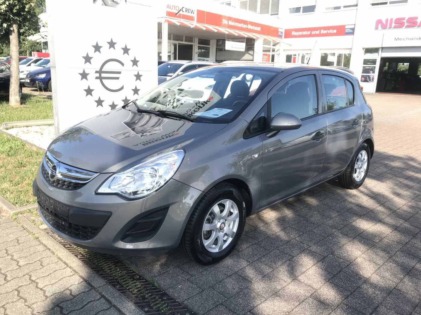 Opel Corsa 1.2 Edition *Klima/ALU/Tempomat*, Jahr 2013, Benzin