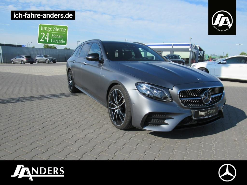 Mercedes-Benz E 53 AMG 4M+ T DriversP+Pano+Distr+Burm+Comand, Jahr 2019, Benzin