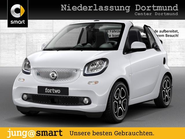 smart fortwo cabrio 60kWed prime cool&Media SHZ LED PDC, Jahr 2018, Elektro
