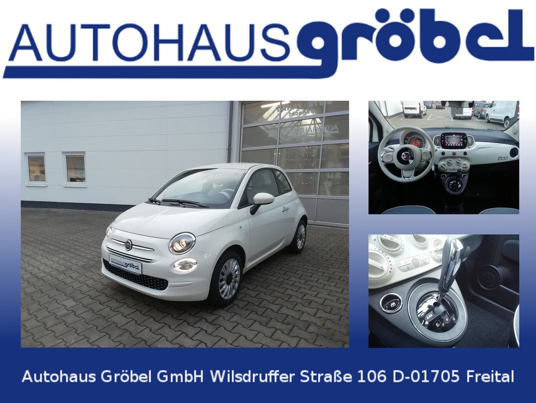 Fiat 500 1.2 8V Lounge Autom.Klima,Tempomat, Jahr 2020, Benzin