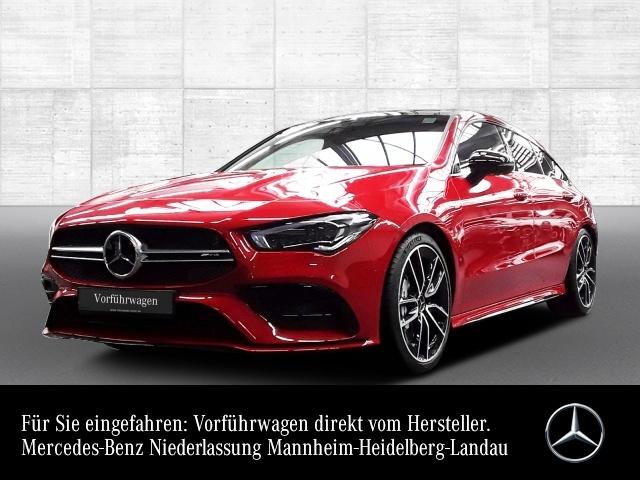 Mercedes-Benz CLA 35 AMG 4Matic Shooting Brake AMG Line Navi LED, Jahr 2019, Benzin
