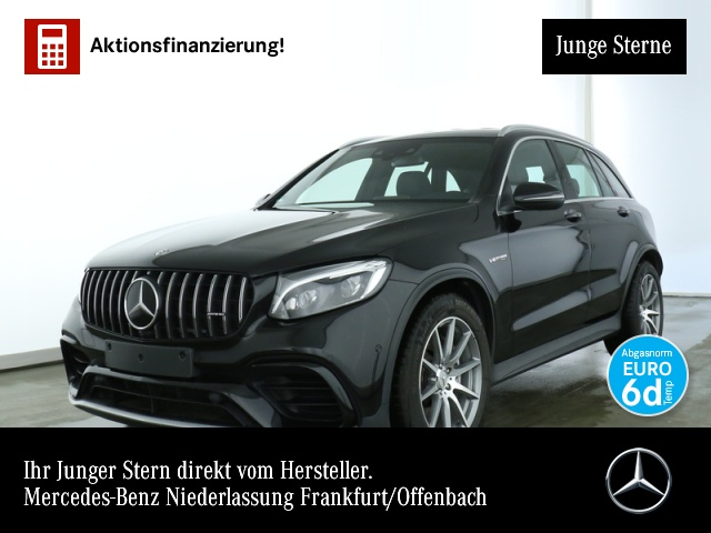 Mercedes-Benz GLC 63 AMG 4M Fahrass Distr. COMAND ILS LED Kamera, Jahr 2018, petrol