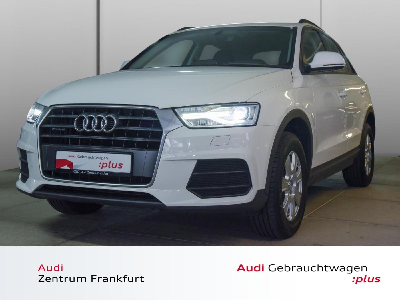 Audi Q3 2.0 TDI quattro BOSE Xenon PDC Tempomat Bluet, Jahr 2017, Diesel