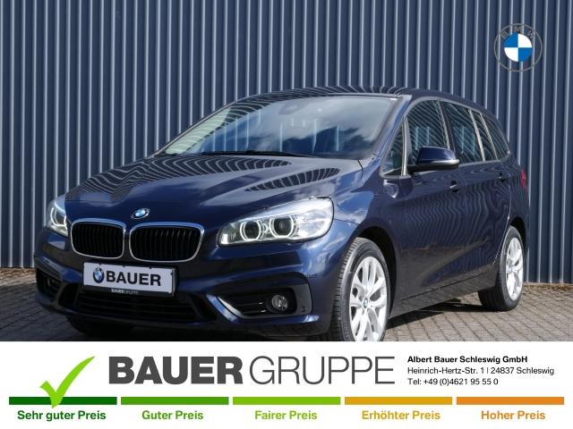 BMW 220 Gran Tourer d 7-Sitzer LED Navi Rückfahrkam. AHK-abnehmbar PDCv+h LED-Tagfahrlicht, Jahr 2016, Diesel