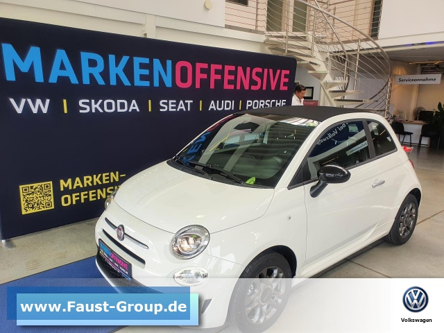 Fiat 500C Cabrio Hybrid NAVI KLIMAAUTOMATIK, Jahr 2021, Benzin
