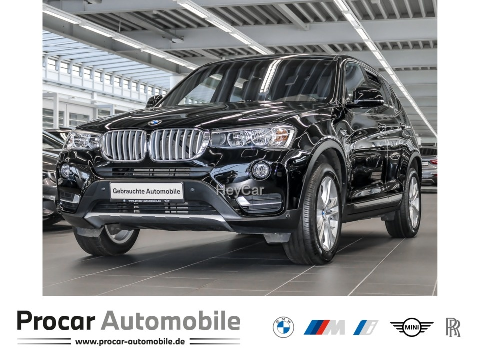 BMW X3 xDrive20d xLine Navi Prof. H/K Leder Panorama, Jahr 2017, Diesel