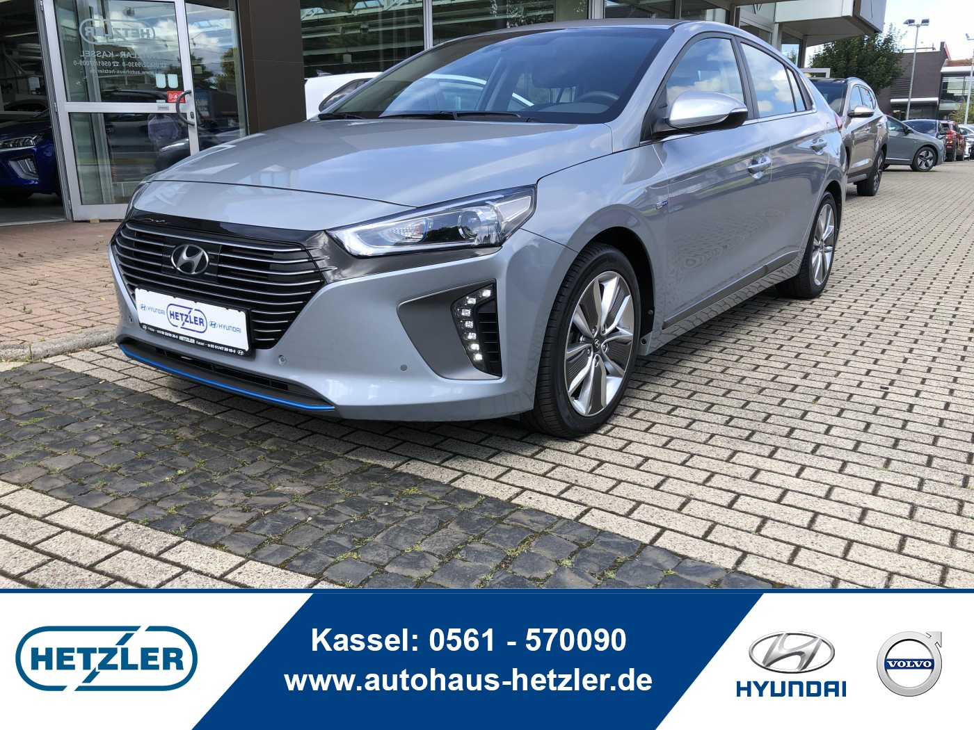Hyundai IONIQ Hybrid 1.6 GDI Premium, Jahr 2017, Hybrid