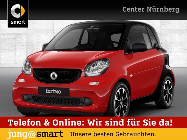 smart fortwo coupé 52kW passion DCT cool&Media SHZ Pano, Jahr 2016, Benzin