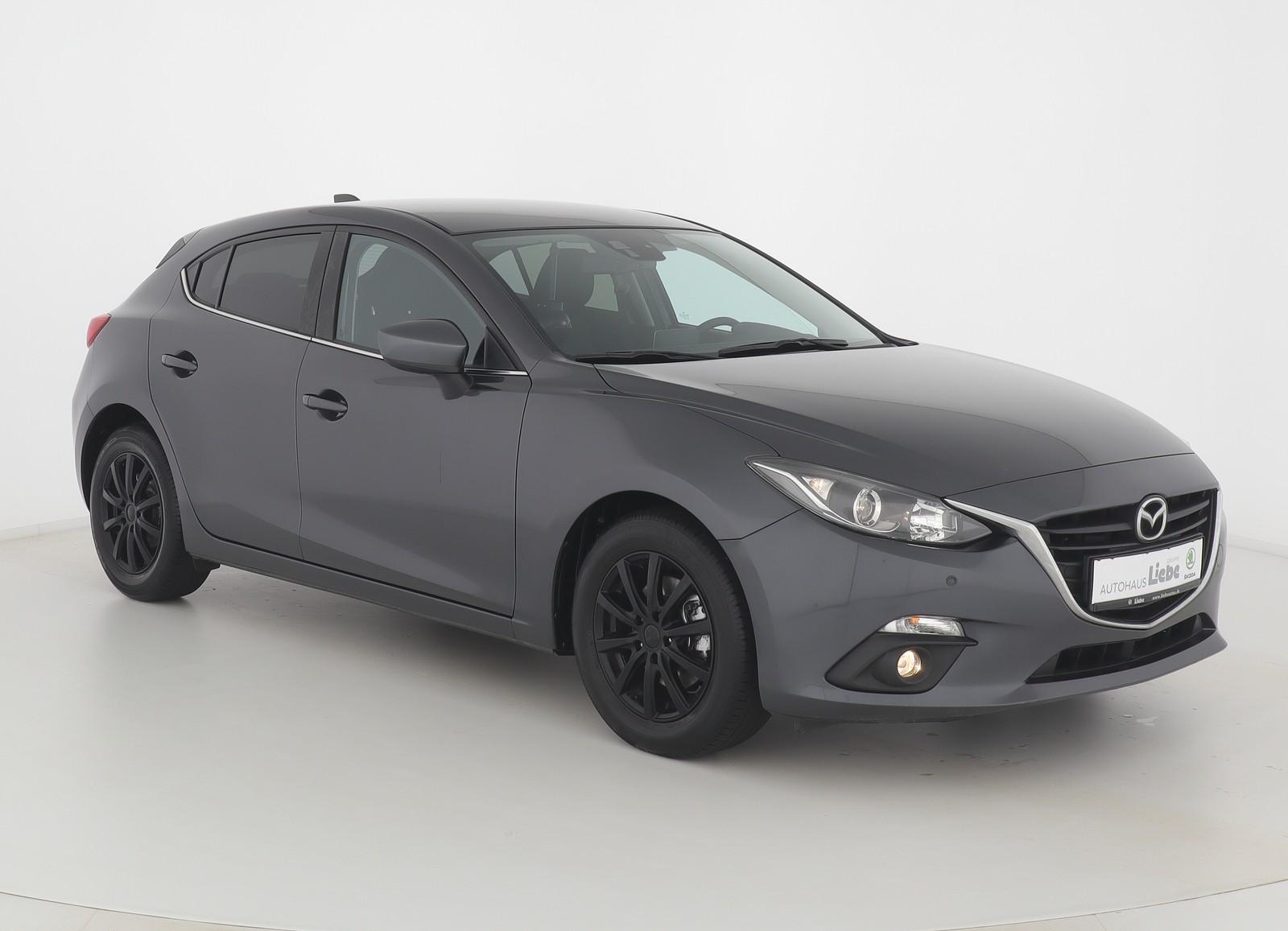 Mazda 3 LIM. CENTER-LINE NAVI SHZ PDC FREISPRECH, Jahr 2015, Benzin