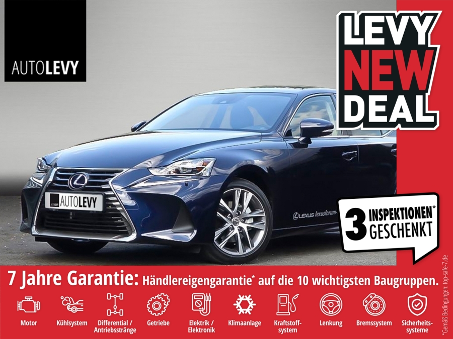Lexus IS 300h Executive Line Premium Navi,Leder, Safet, Jahr 2018, Hybrid