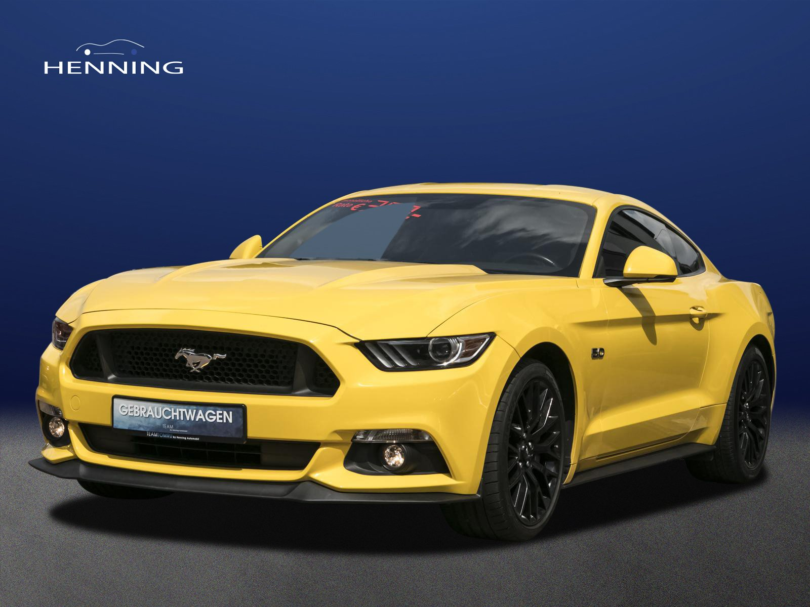 Ford Mustang 5.0 V8 GT*Deutsches FZG*Recaro*Unfallfre, Jahr 2017, Benzin