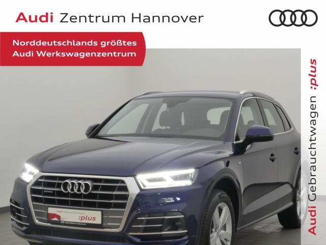 Audi Q5 40 TDI qu. sport, S-line Sel., virtual, AHK, LED, Alcant., Jahr 2020, Diesel