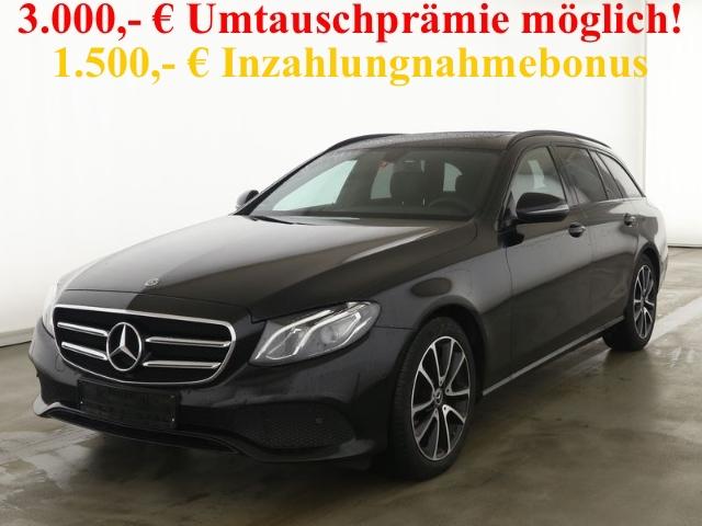 Mercedes-Benz E 200 T Avantgarde Night+Navi+SHD+Kamera+DAB+Totwinkel, Jahr 2020, Benzin