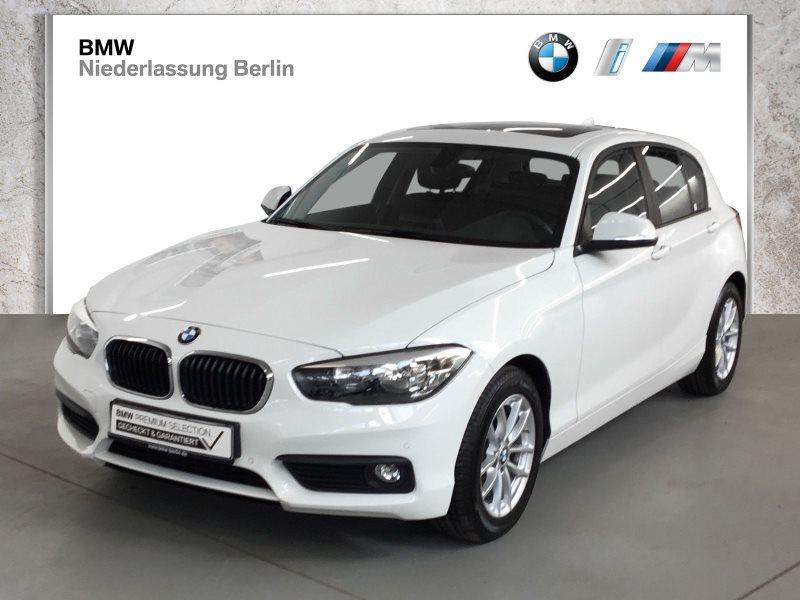 BMW 118i 5-Türer EU6 Servotronic Glasdach PDC Alu, Jahr 2017, Benzin