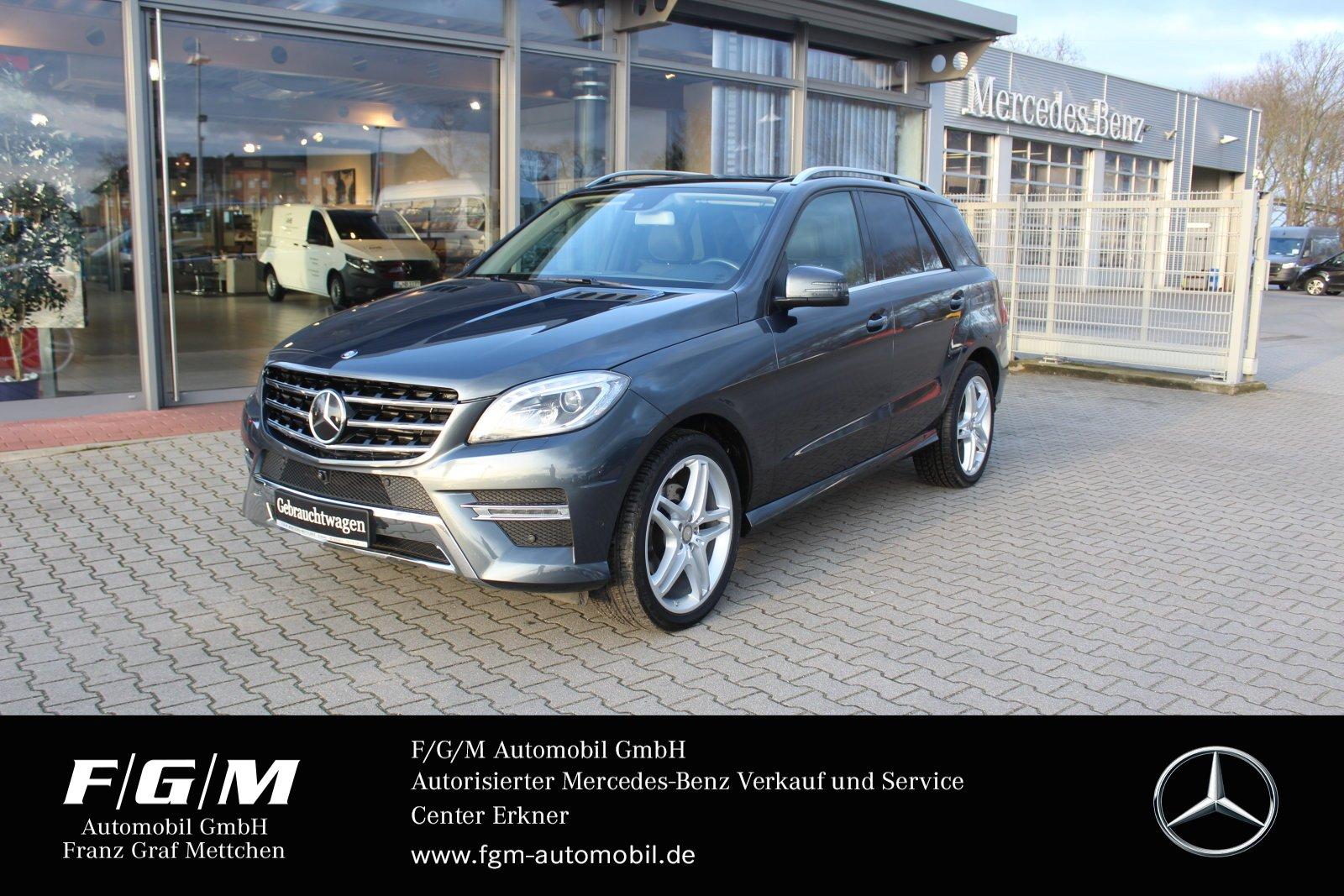 Mercedes-Benz ML 350 BT COMAND/Comand/ILS/PanoD/Distr/Airmatic, Jahr 2015, Diesel