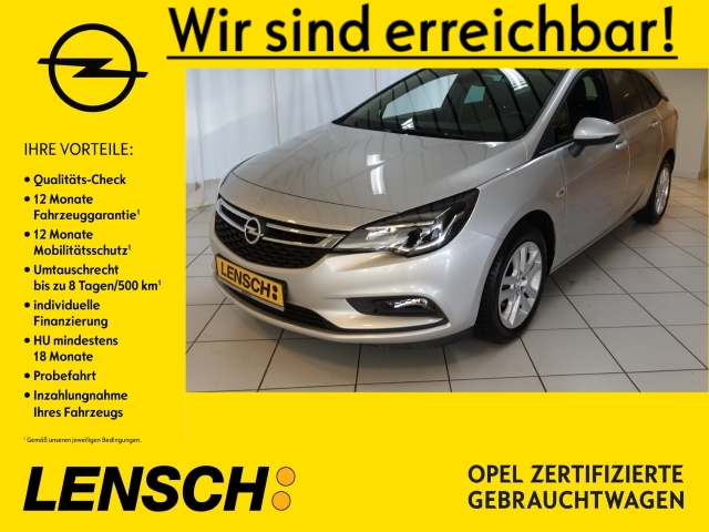 Opel Astra K ST 1.0 Turbo Business NAV+SITZH+KLIMAAUT, Jahr 2018, Benzin