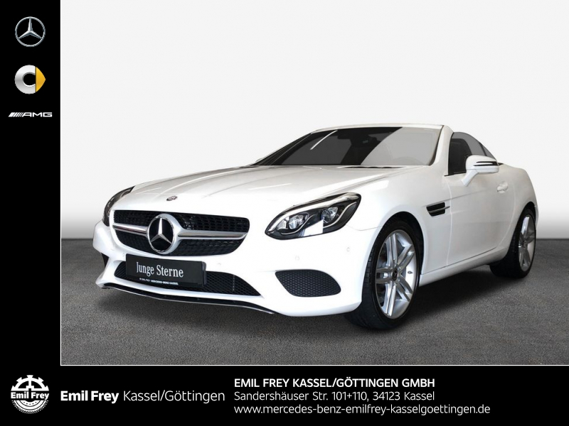 Mercedes-Benz SLC 180 9G +Navi+ILS+PTS+SportPaket+Leder+Shz, Jahr 2017, Benzin