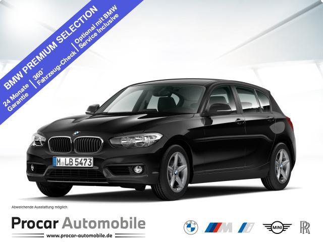 BMW 116d Advantage Navi Business Durchlade PDC RFT, Jahr 2018, Diesel