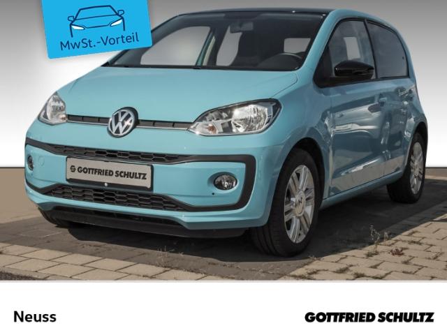Volkswagen up! 1,0 BT+KLIMA+LM high, Jahr 2019, Benzin