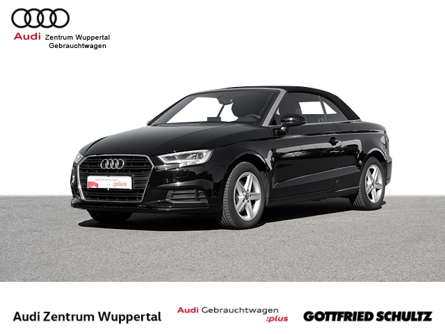 Audi A3 Cabrio 1.4TFSI LED CONNECT PDC NAV SHZ FSE BT 16ZOLL, Jahr 2018, Benzin